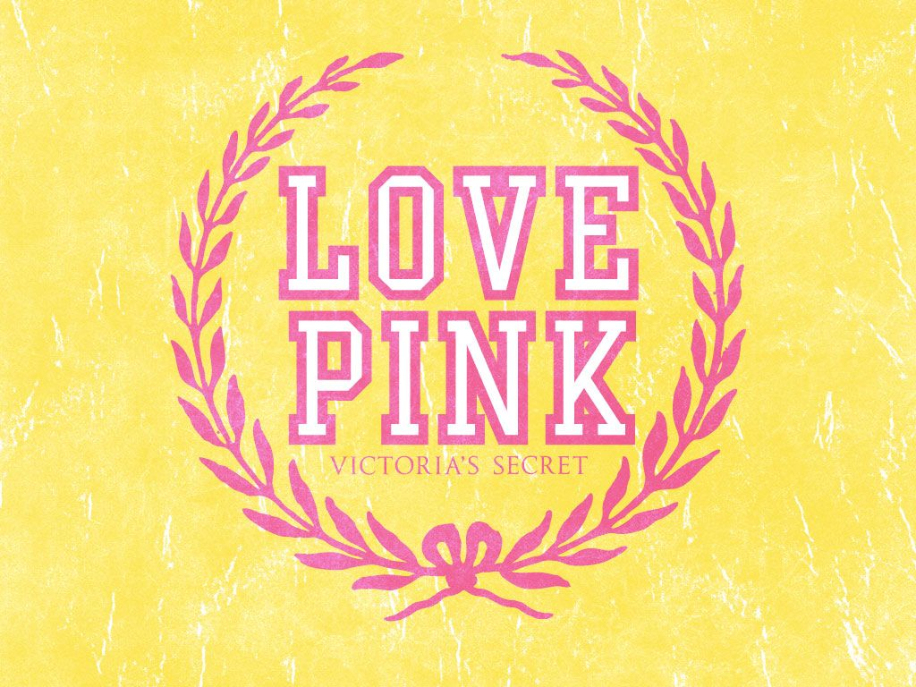 Wallpaper Love Pink Tumblr : Image Gallery love pink logo