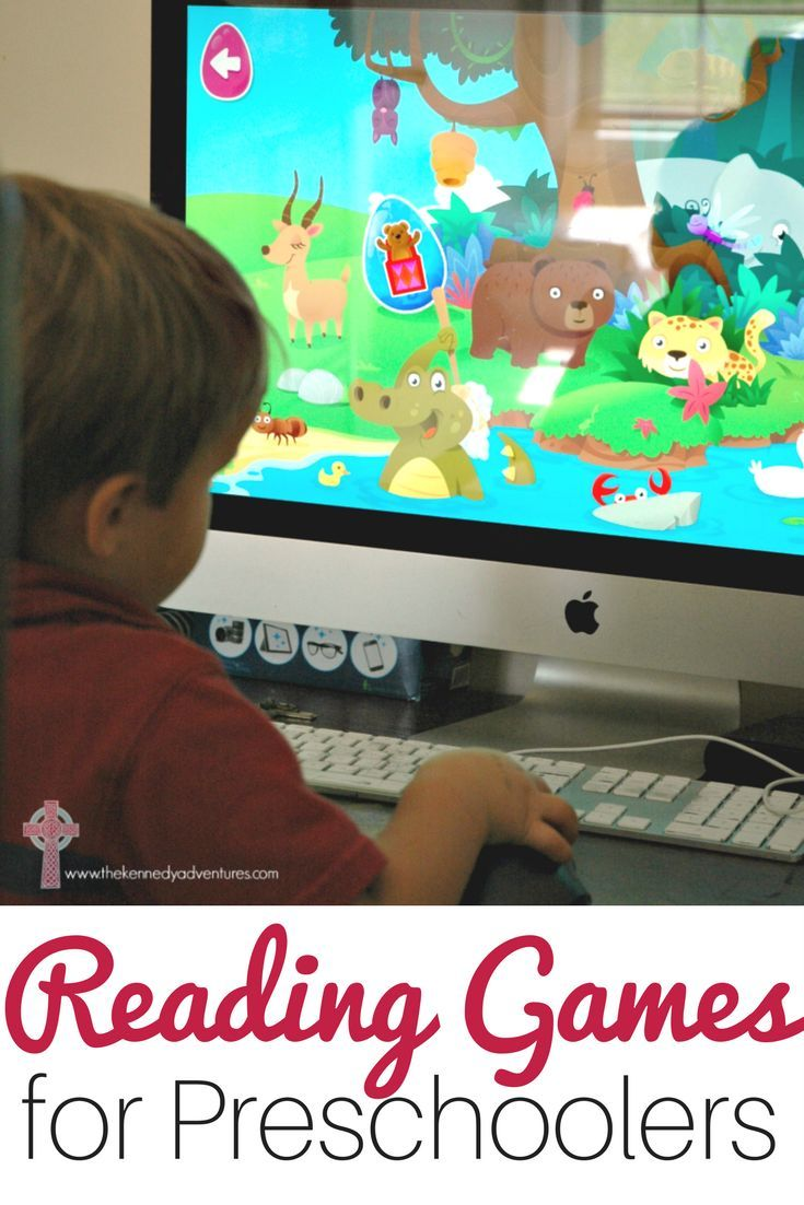 Amazing Online Reading Games for Preschoolers from Reading ...