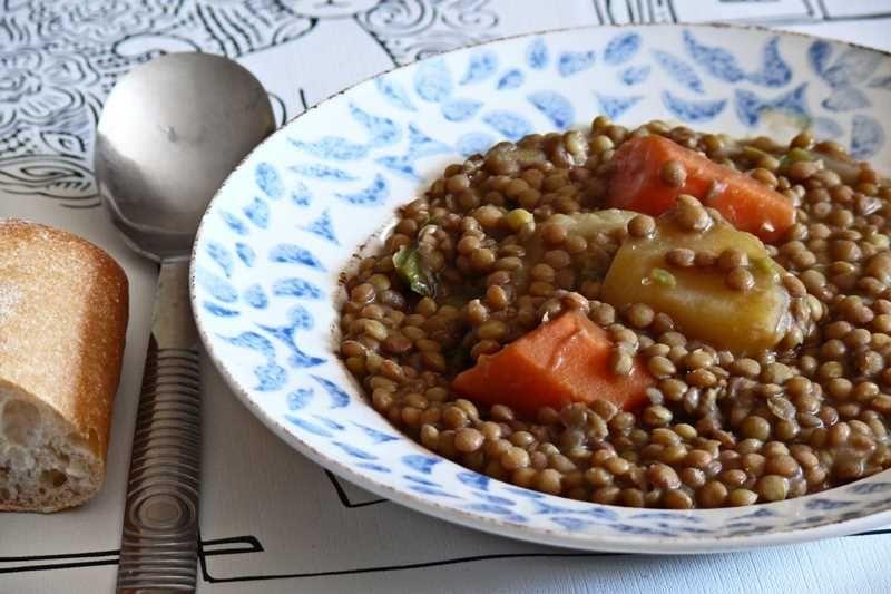 Recetas De Cocina De Cuchara   Recetas De Cuchara Lentejas Al Curry Con Thermomix Cocina