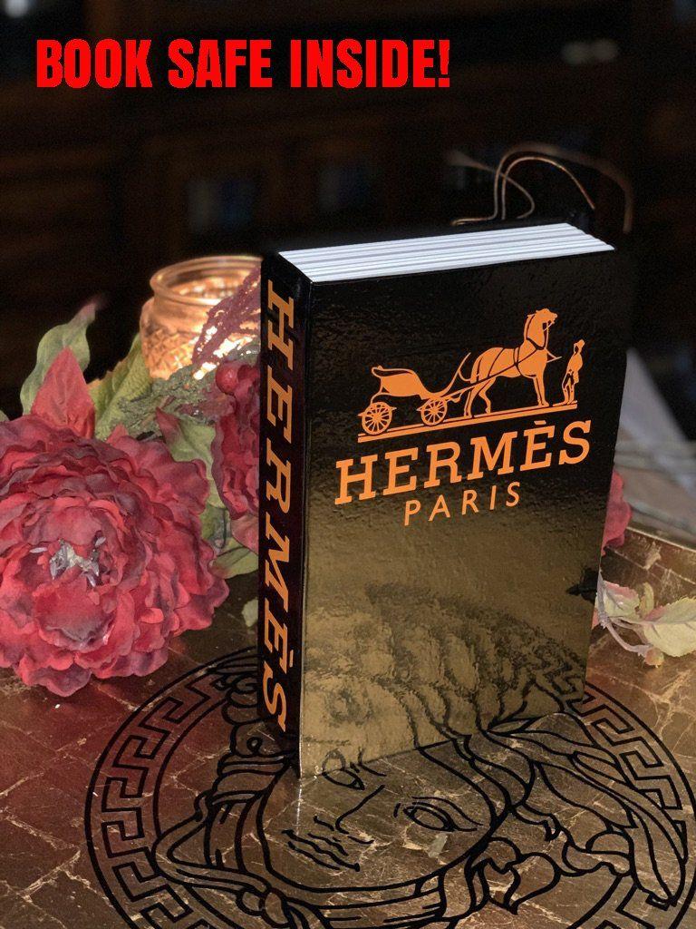 Hermes Book Safe Size Color Options Available Book Safe