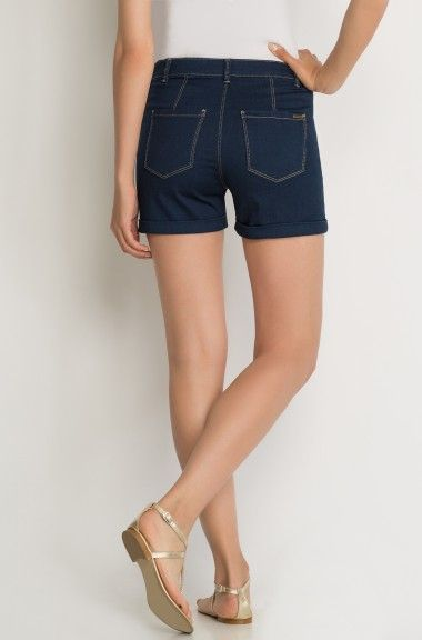 ORSAY JEANS | Maritime denim shorts with buttons #mywork #fashiondesigner