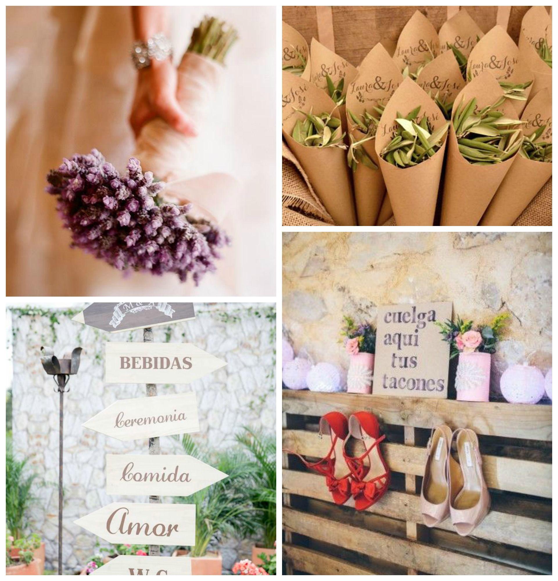 ideas sencillas y econmicas para una boda diferente