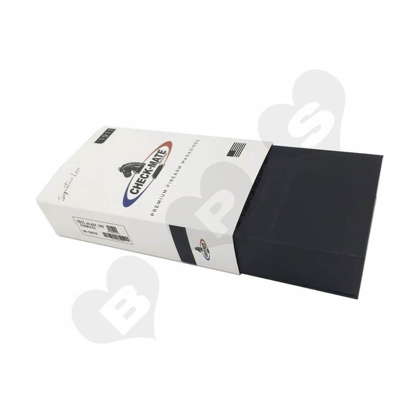 Printed magazine packaging box with sleeve shanghai bps