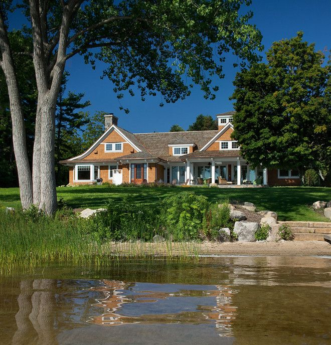 Good J Visser Home Design Part - 8: Northern Michigan Cottages - Traditional - Exterior - Grand Rapids - J  Visser Design