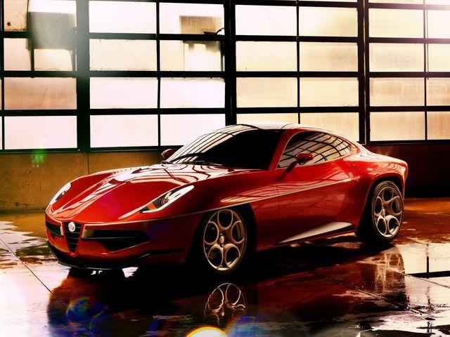 Alfa Romeo Disco Volante Touring Concept 2012 Cinello