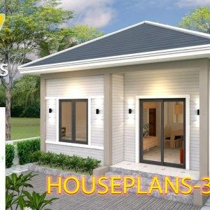 Boutique Homes 29x51 With 3 Bedrooms Samphoas Plan Small House Design Modern House Plans House Plans