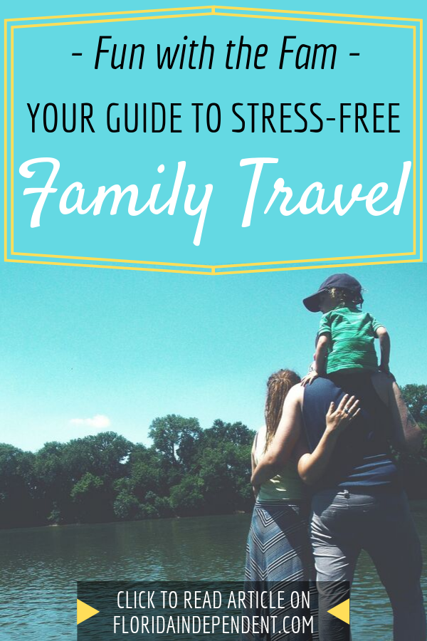 If you're one of the millions of Americans that see the value of traveling as a family, then you also understand how stressful it can be to go on vacation with kids. Click to read these tips! #familytravel #familytips #familytime #funwithfamily #parentingtips #parentinghacks #parentingtipsandtricks