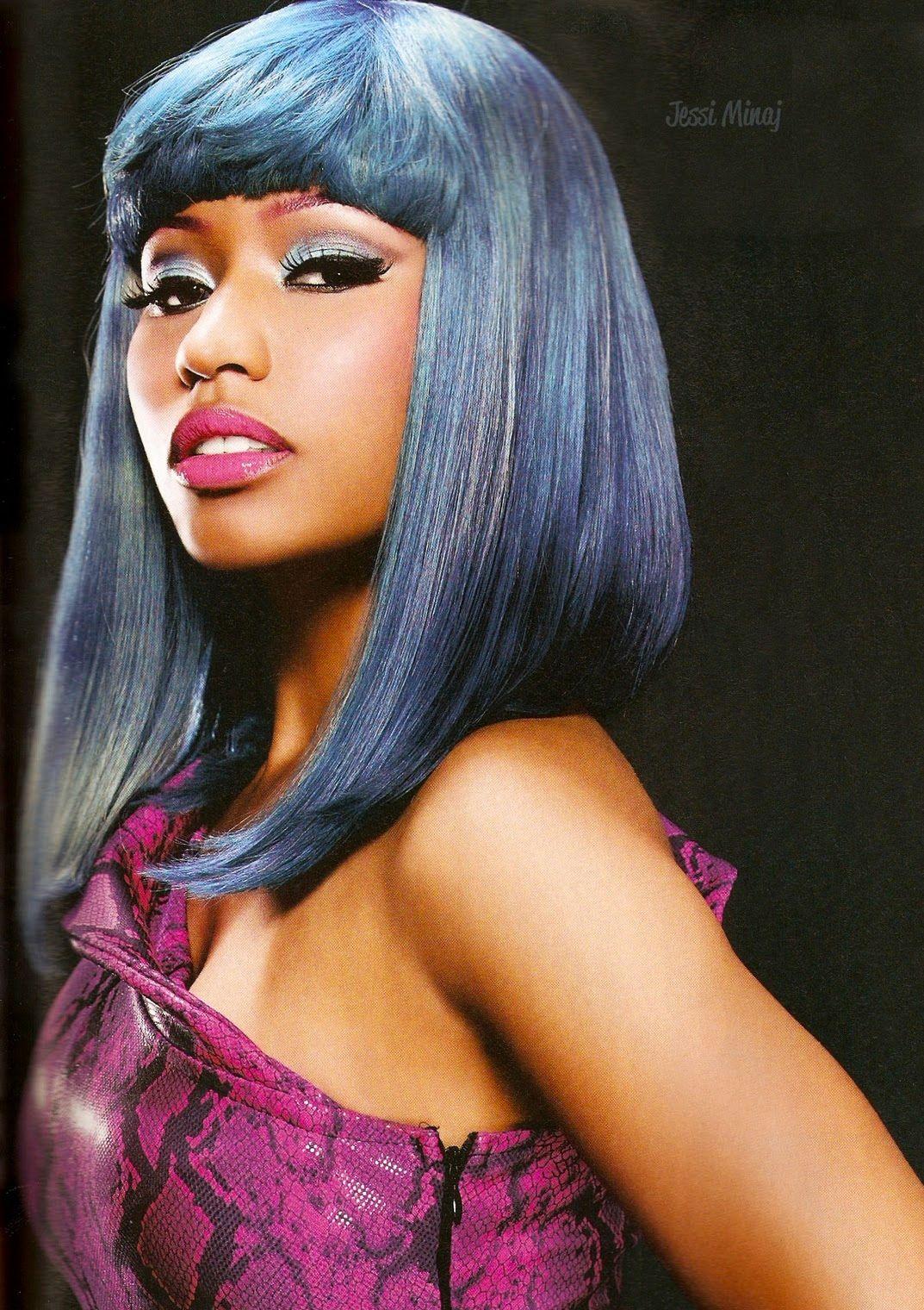 d77f9d95eb93c Nicki Minaj Reveals her Natural Hair on Twitter