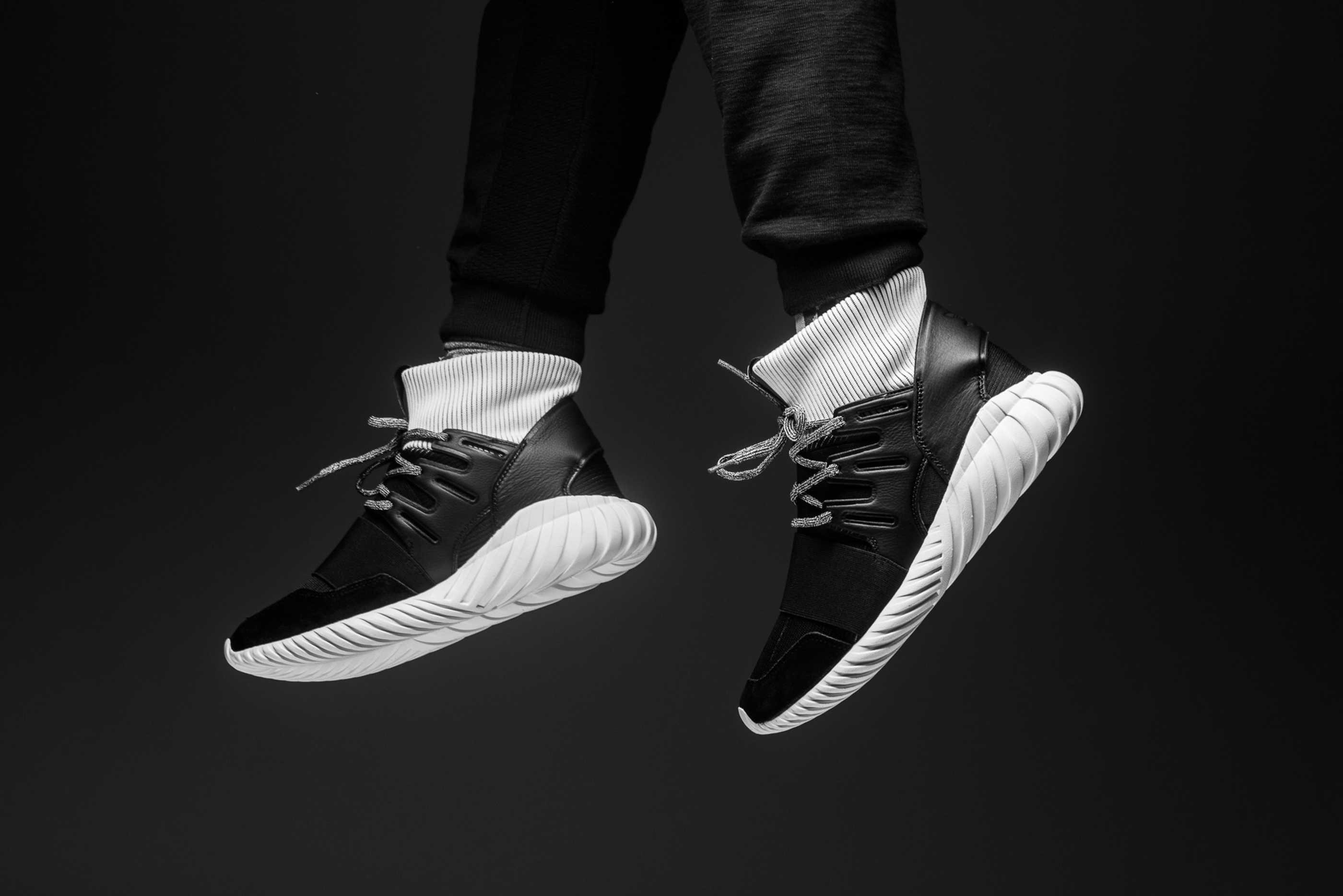 adidas Originals Tubular Doom   Sort   Sneakers   BA7555