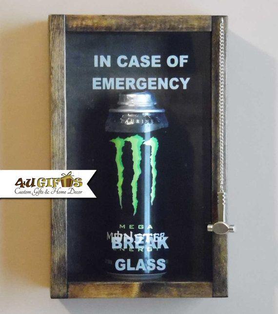 This Item Is Unavailable In 2020 Custom Shadow Box Monster Energy Drink In Case Of Emergency