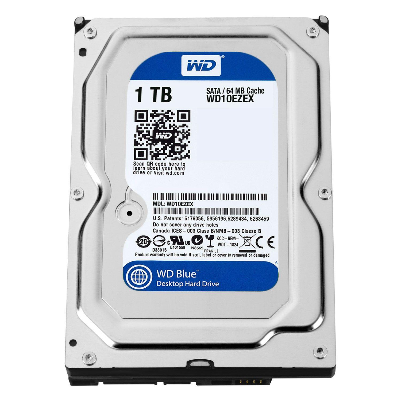 Western Digital Blue 1TB (WD10EZEX) – Refurbished Supply
