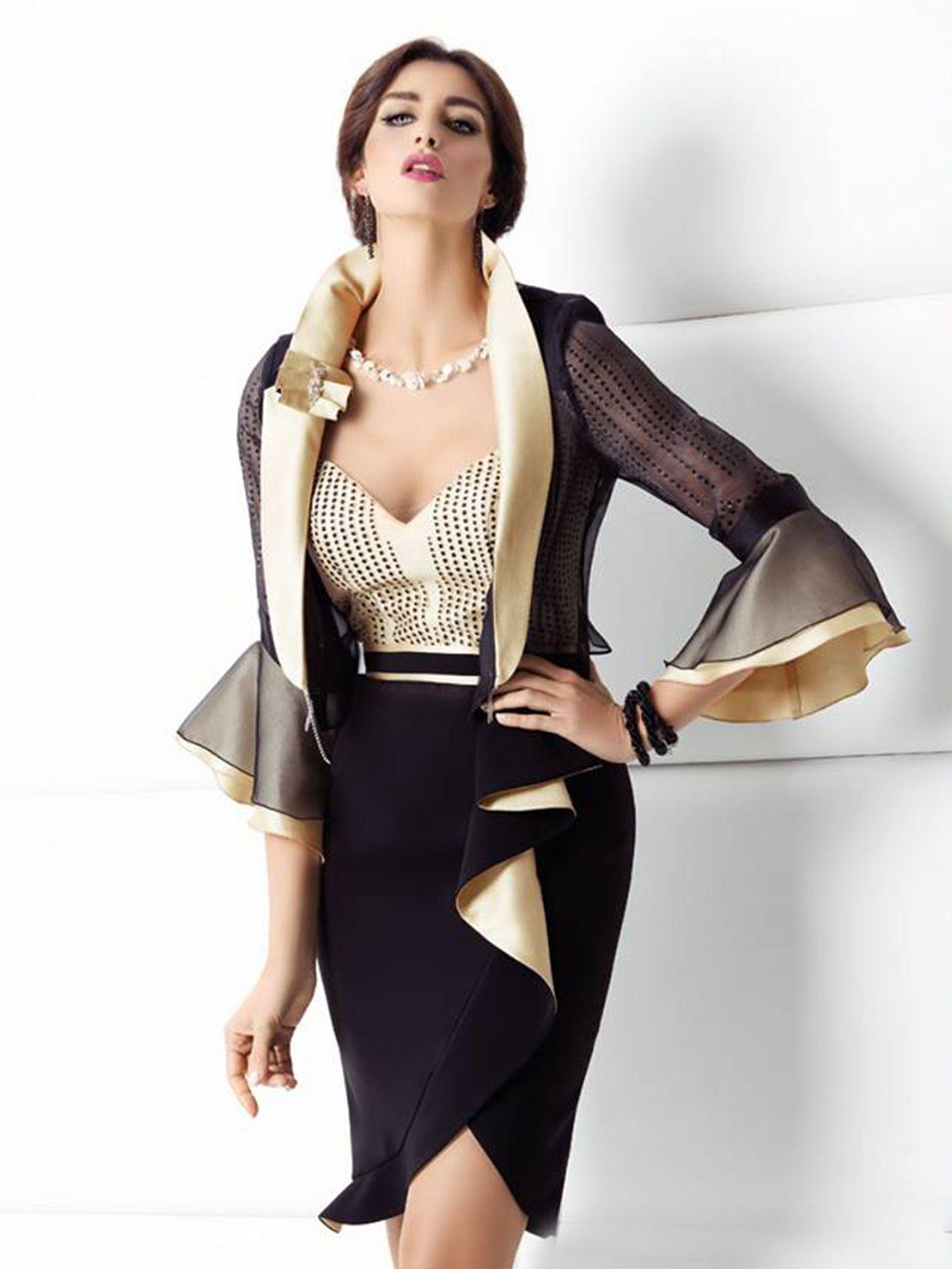 Vestiti Eleganti Moda 2018.Abito Cerimonia Intell 7 Intelligere Moda 2018 Abiti Moda