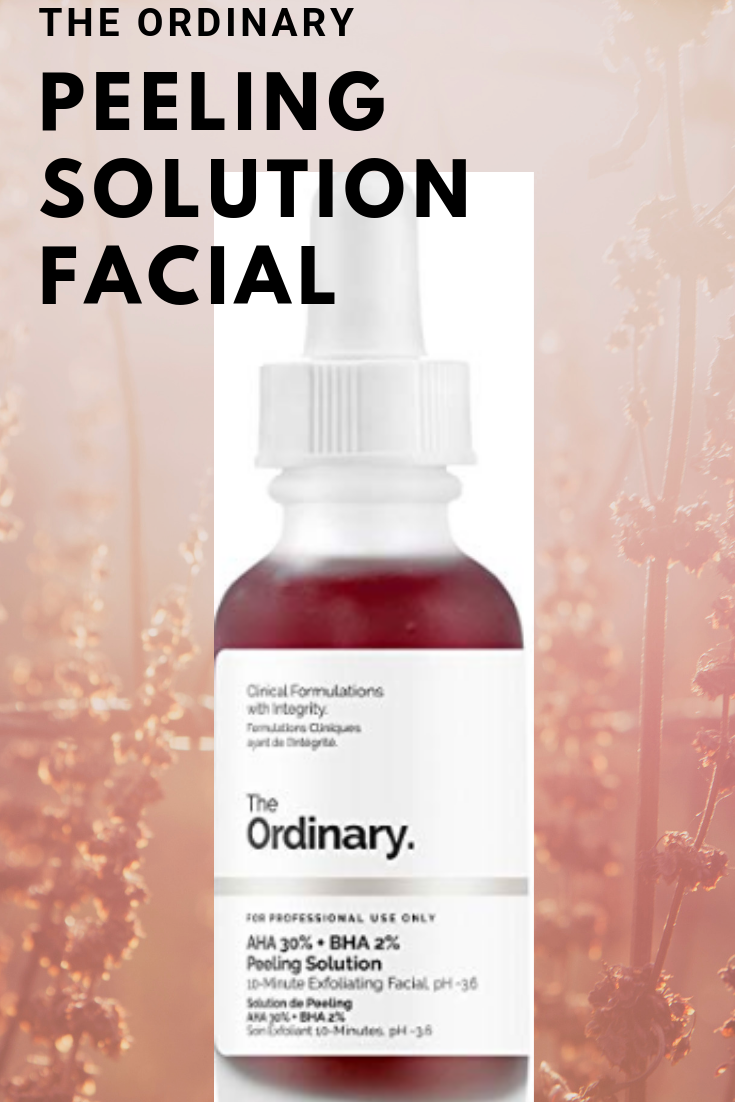The Ordinary Peeling Solution 30ml AHA 30 + BHA 2 The