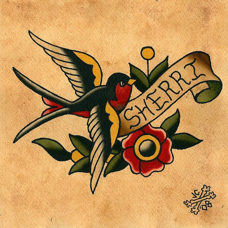 sparrow tattoo american traditional Google Search