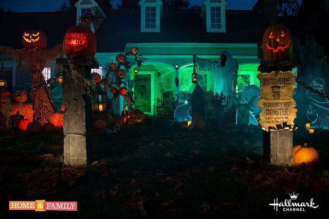 DAVE LOWE DESIGN the Blog 31st Day of Halloween - The Finished Yard - lowes halloween