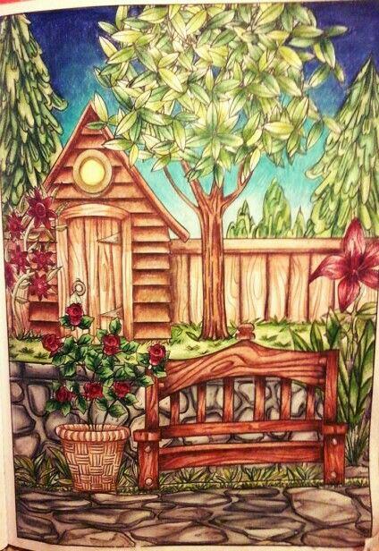 Cra Z Art Coloring Book Magical Garden One Of The