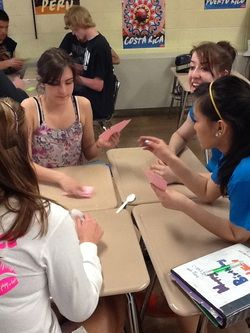 Fun games for a Spanish class, but you can use the same principle for any subject area.