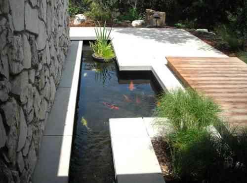 Comment aménager un bassin de jardin contemporain | Gardens