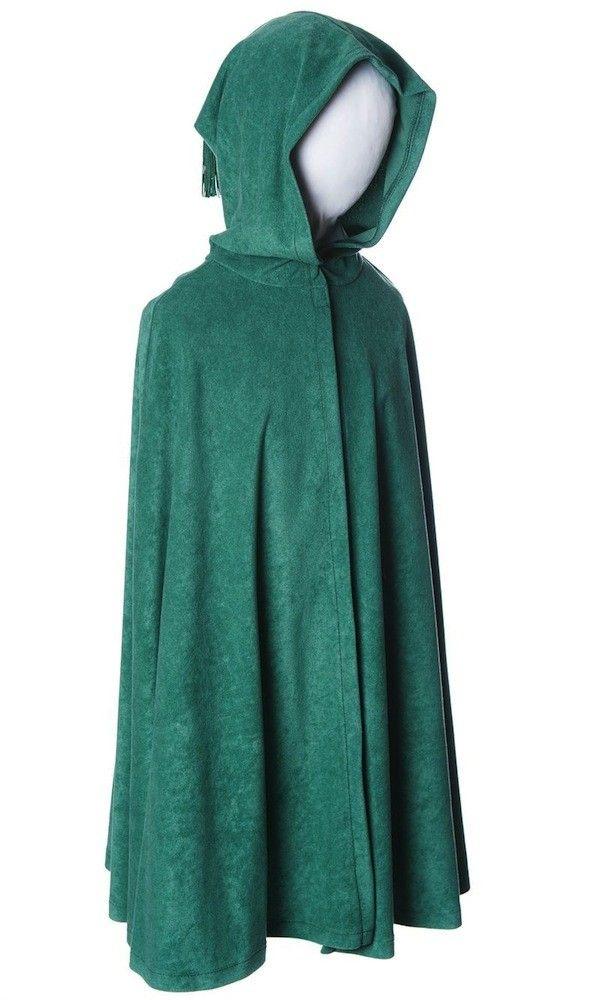 Child's Green Cape / Cloak