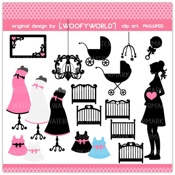 maternity silhouette clip art