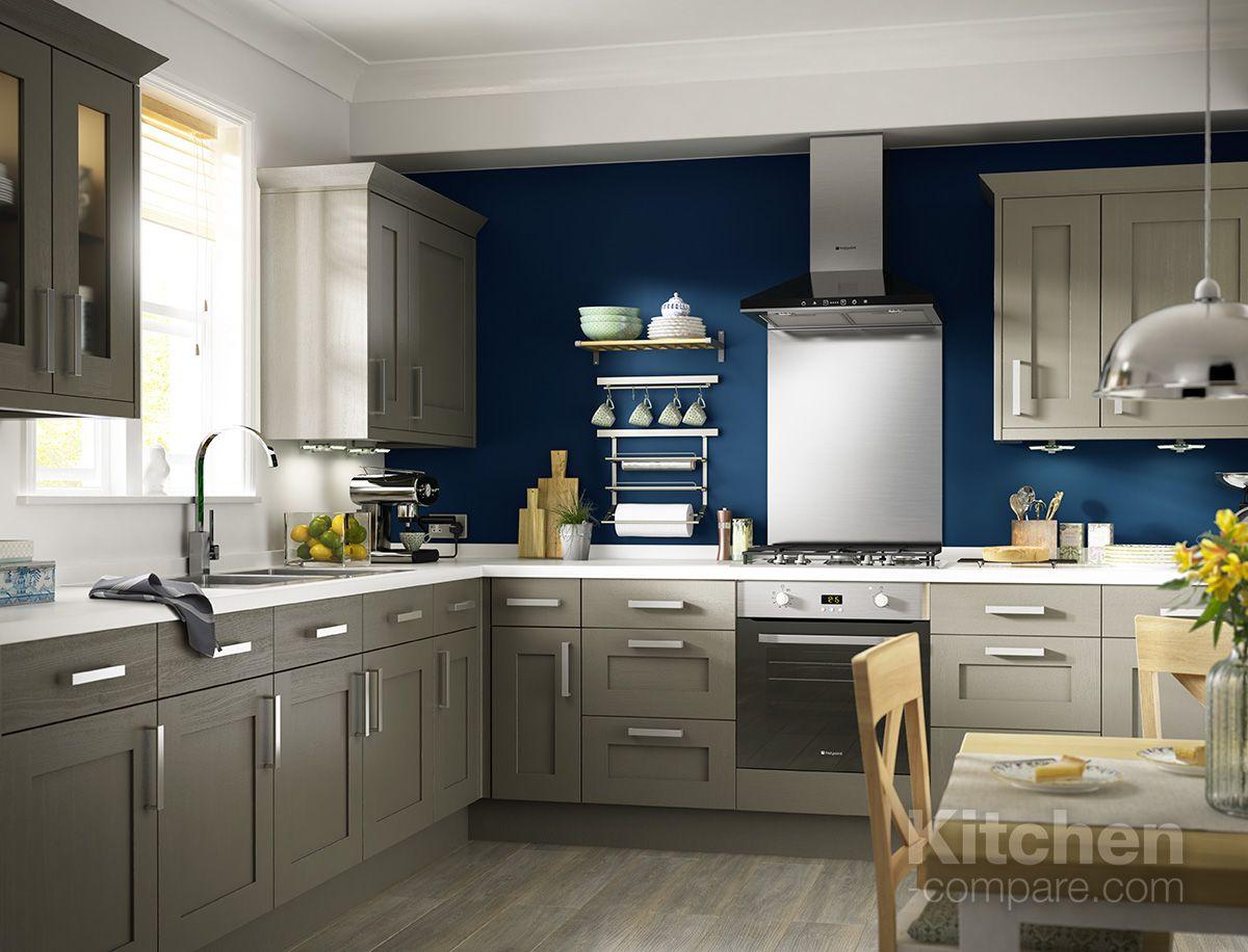 B&Q Cooke & Lewis Carisbrooke Taupe. Our Carisbrooke Taupe kitchen ...