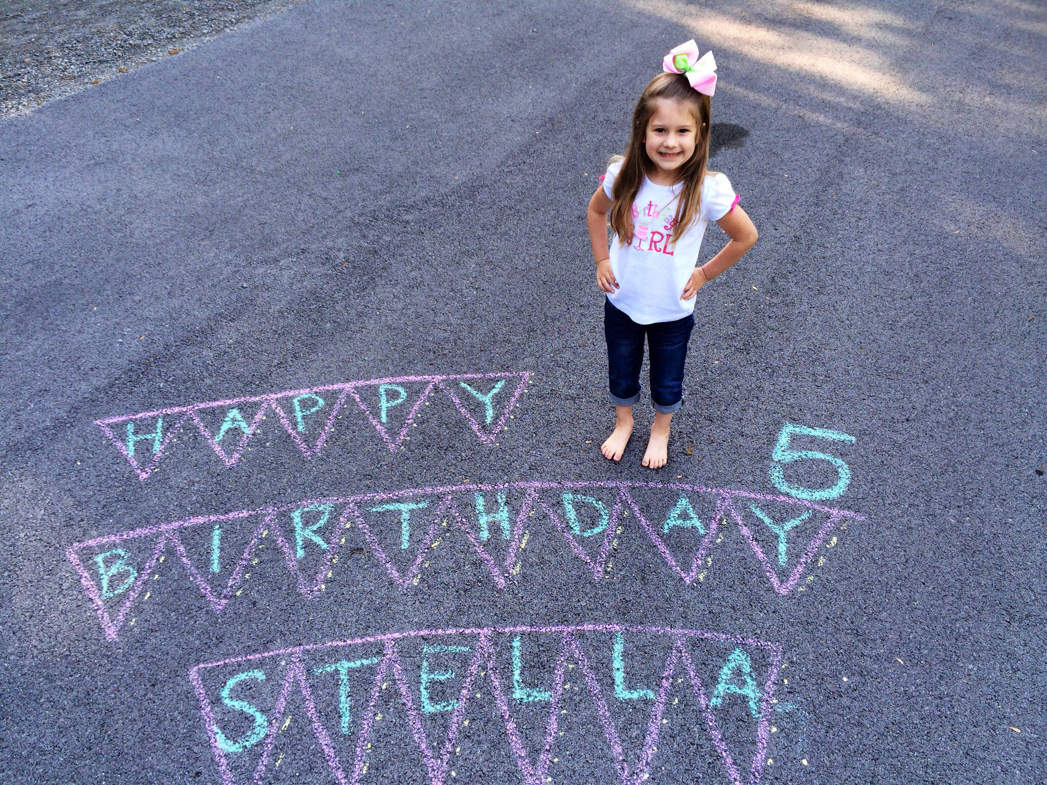 Fun way to celebrate your little ones birthday