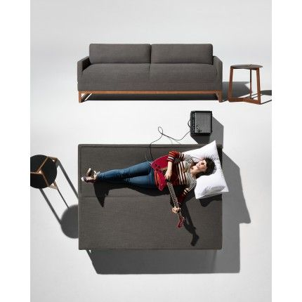 Cool The Diplomat Sleeper Sofa Packwood Charcoal Modern Caraccident5 Cool Chair Designs And Ideas Caraccident5Info
