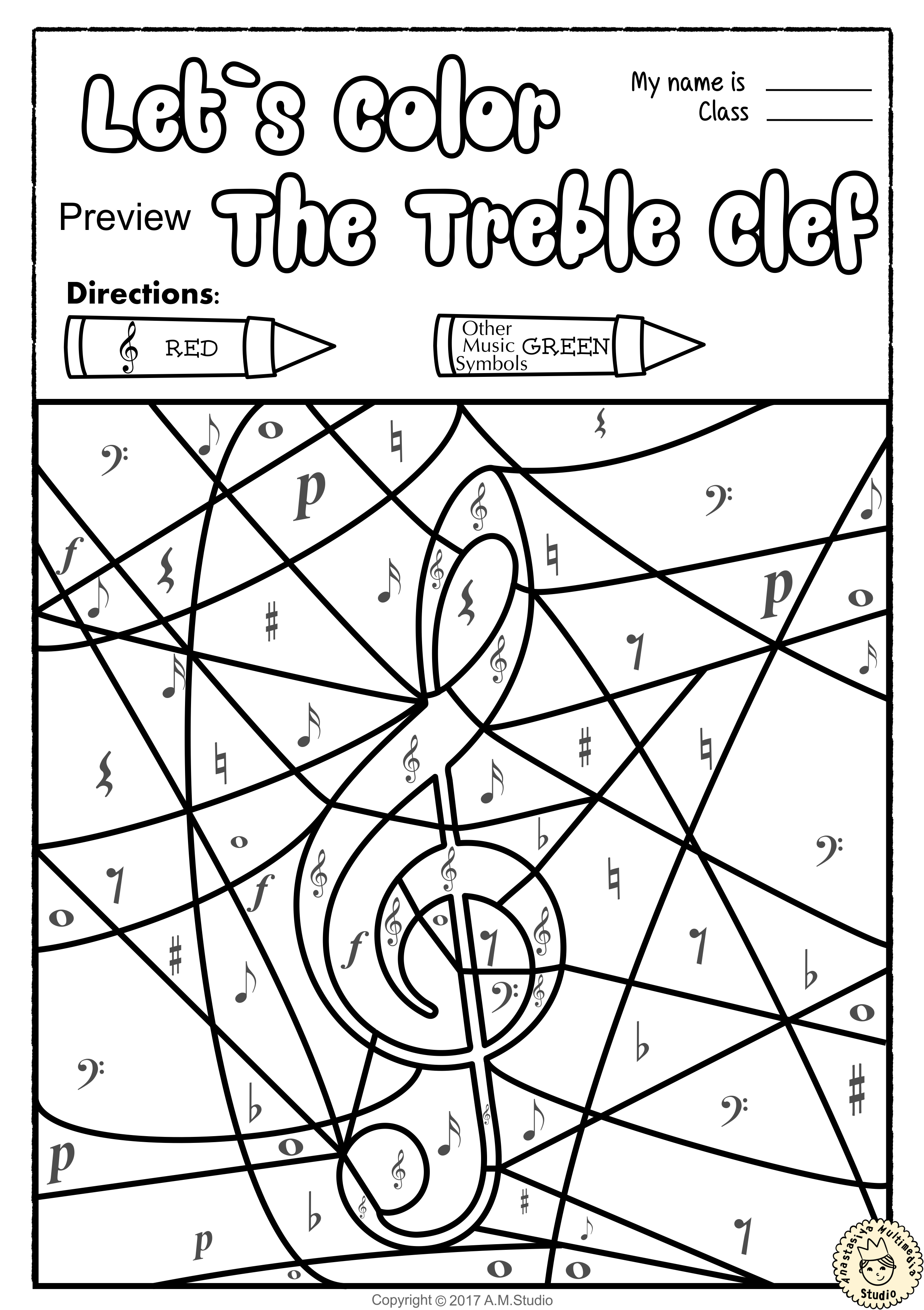 Music Theory Worksheets For Kindergarten