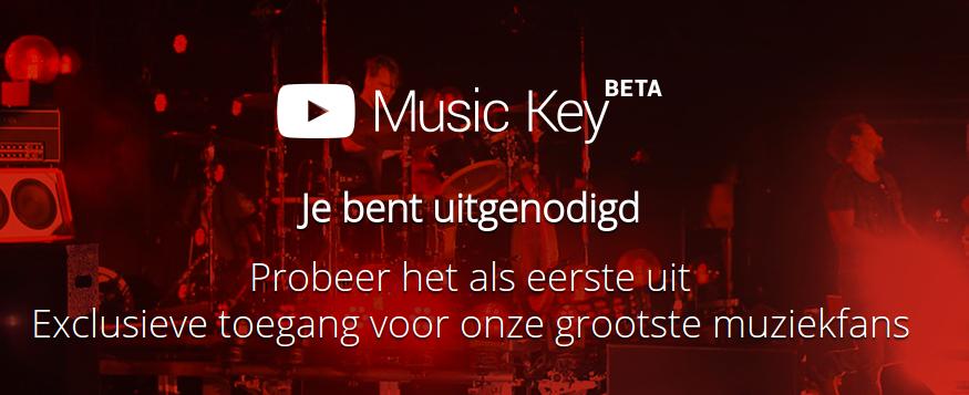 Easy Cloud Computing NL: Uitnodiging YouTube Music Key