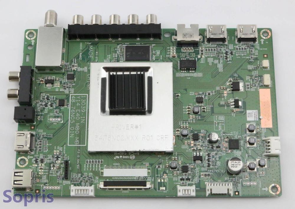 Vizio 55.76N01.B01 Main Board for E480I-B2 13039-1N