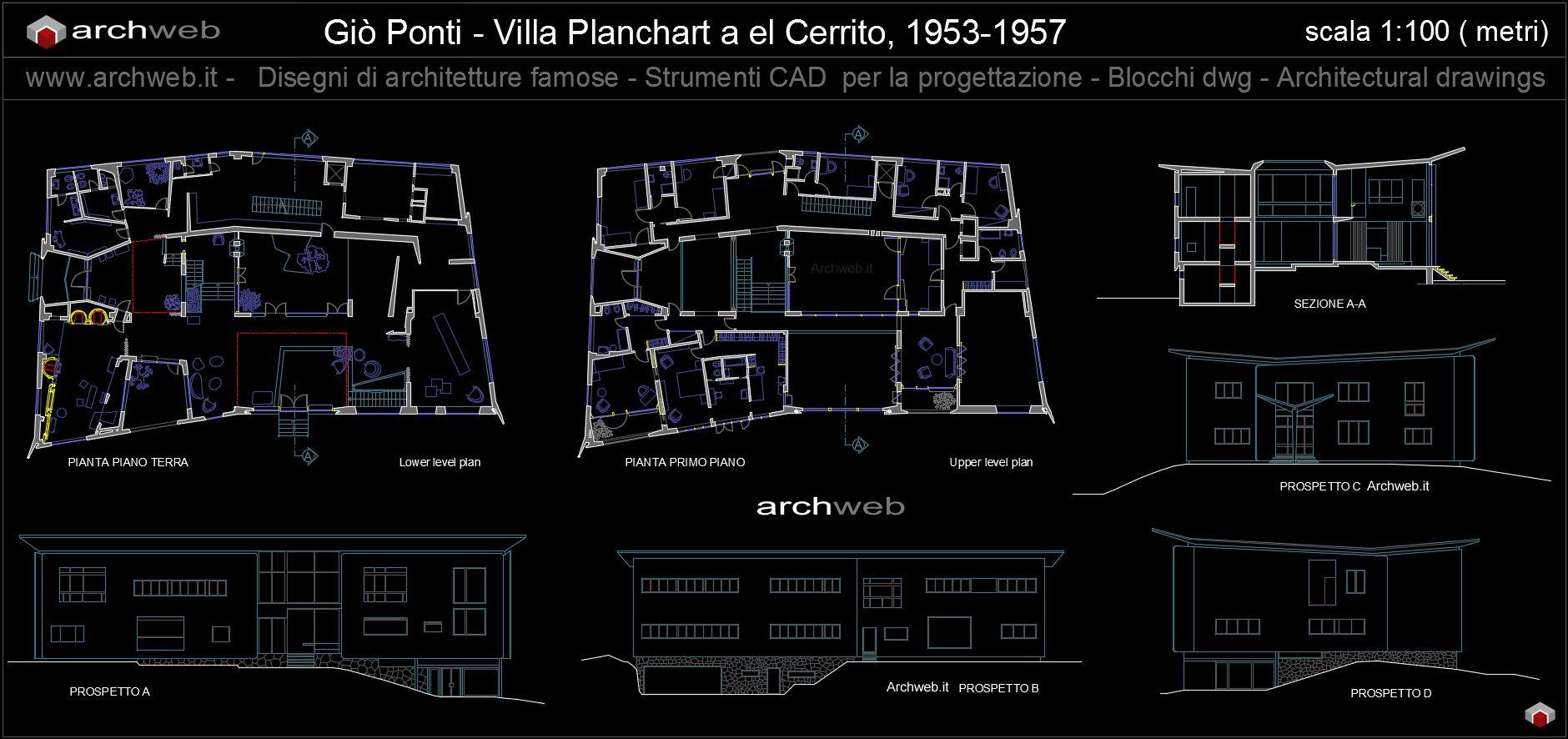 Villa Planchart A Caracas Venezuela 1953 57 Gi² Ponti