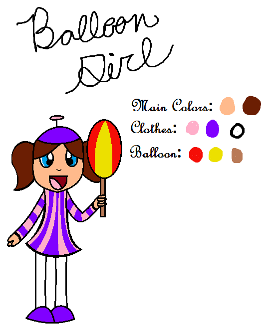 balloon girl fnaf | FNAF 2 Fam: Balloon Girl by Angel-The-Puppet