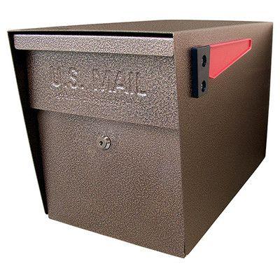 Locking Post Mounted Mailbox Mounted Mailbox Security Mailbox Mail Boss