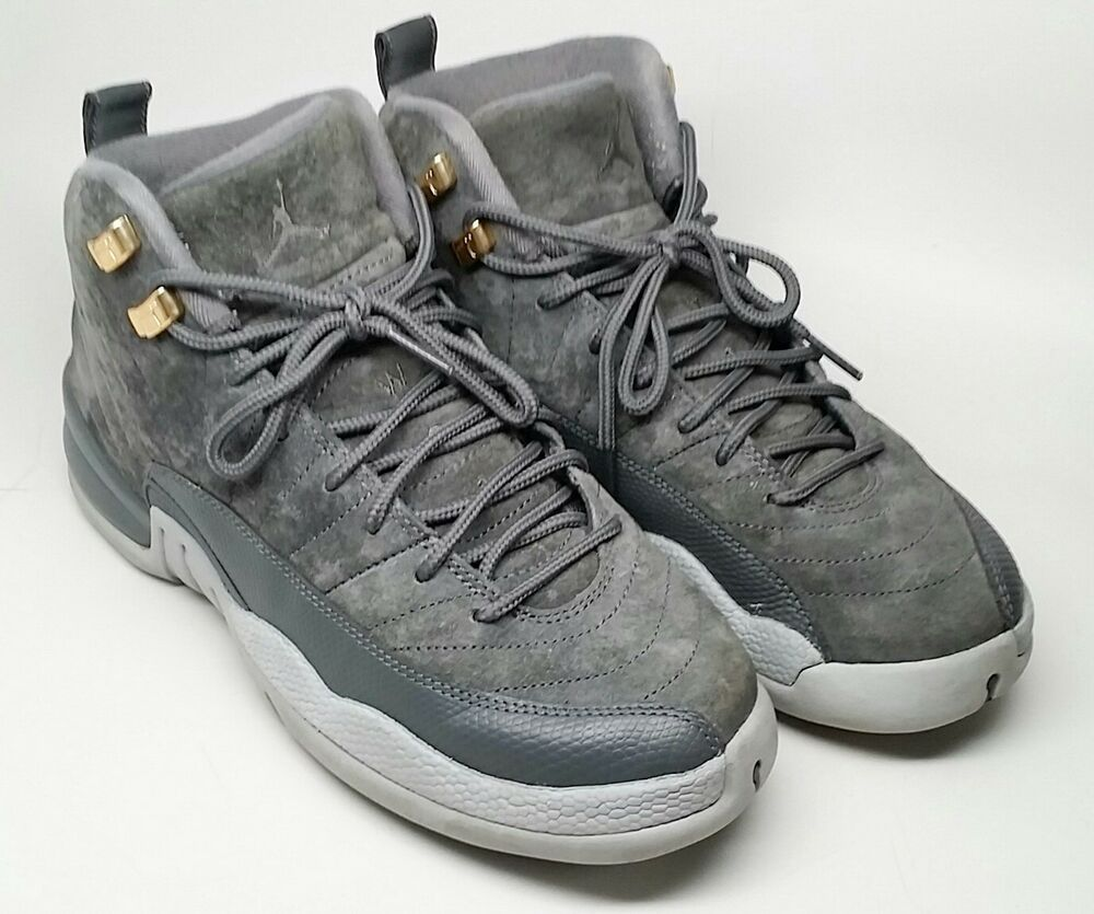 detailed look cf3b3 d58fb eBay #Sponsored Nike Air Jordan 12 Retro XII GS Dark Grey ...