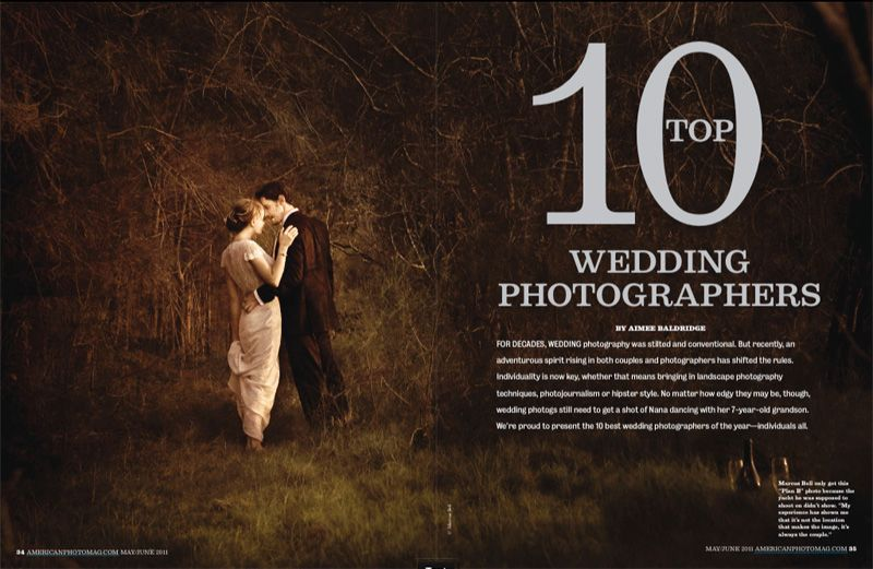 Top Ten Wedding Photographers In The World 2011