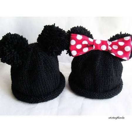 minnie mouse mütze ohren - Google-Suche   Baby   Pinterest   Minnie ...