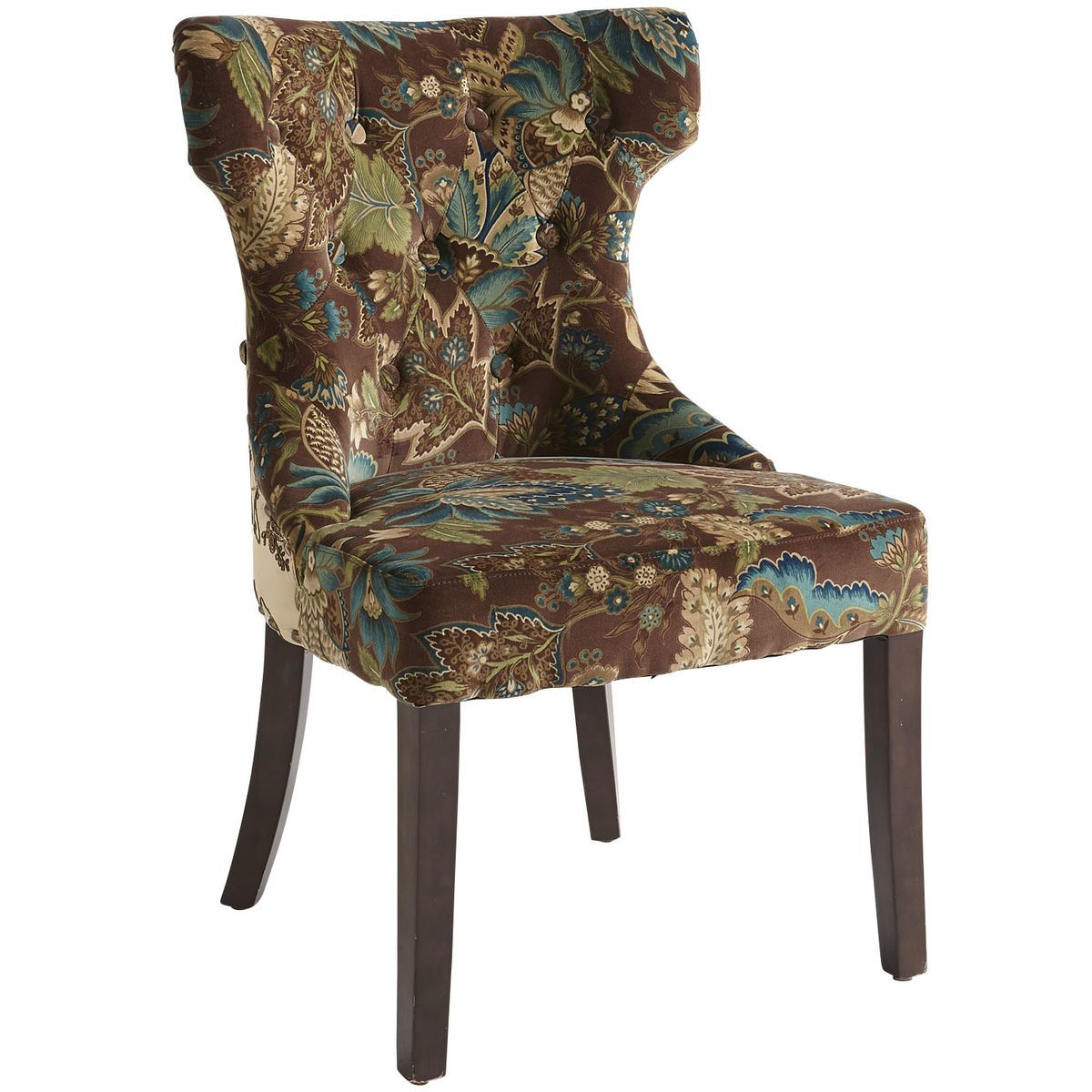 Hourgl Dining Chair Pea Fl Pier 1 Imports