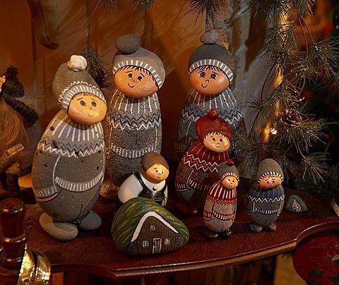 Christmas decorations on sale, Akureyri, Iceland ethereality - christmas decorations sale