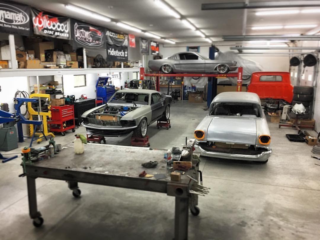 . Pin by John Robbins on Shop in 2019   Garage workshop  Garage design