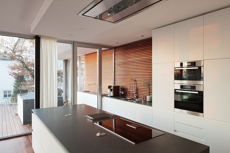 MTB-Küche mit Block Küche Pinterest Küchenschränke, Küche - küchenzeile weiß hochglanz