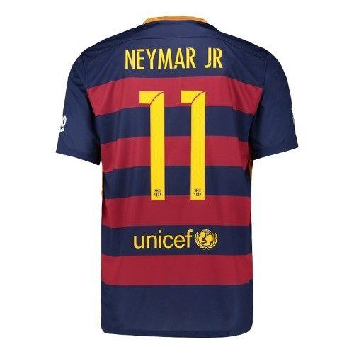 c9afa5482 Neymar Jr Barcelona 15 16 Youth Home Jersey