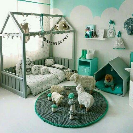 Ideen für kleine Kinderzimmer und Jugendzimmer Einrichtung und - jugendzimmer tapeten home design ideas