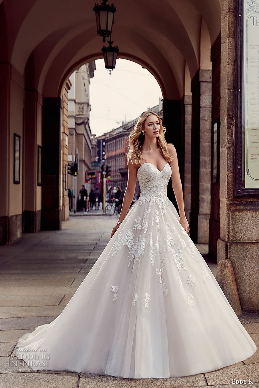 Eddy K 2017 Wedding Dresses Milano Bridal Collection