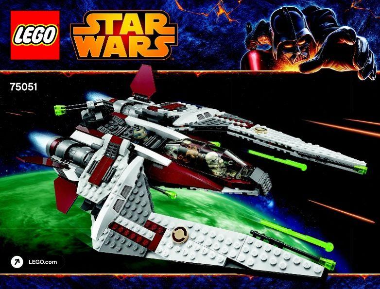 Star Wars Yoda Chronicles - Jedi Scout Fighter [Lego 75051] | Lego ...