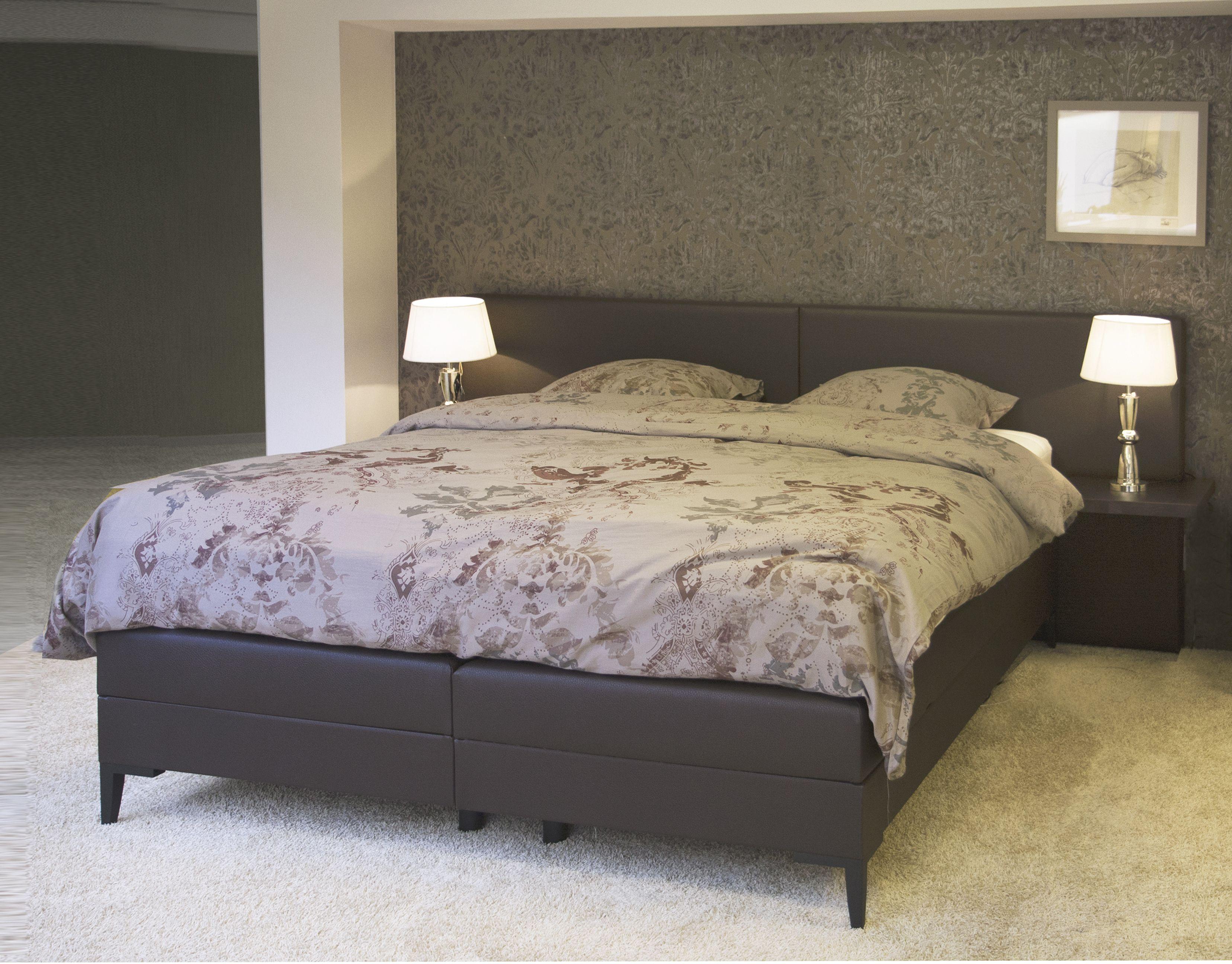 een kwalitatief zwart boxspring bed in de slaapkamer meubelen heylencom