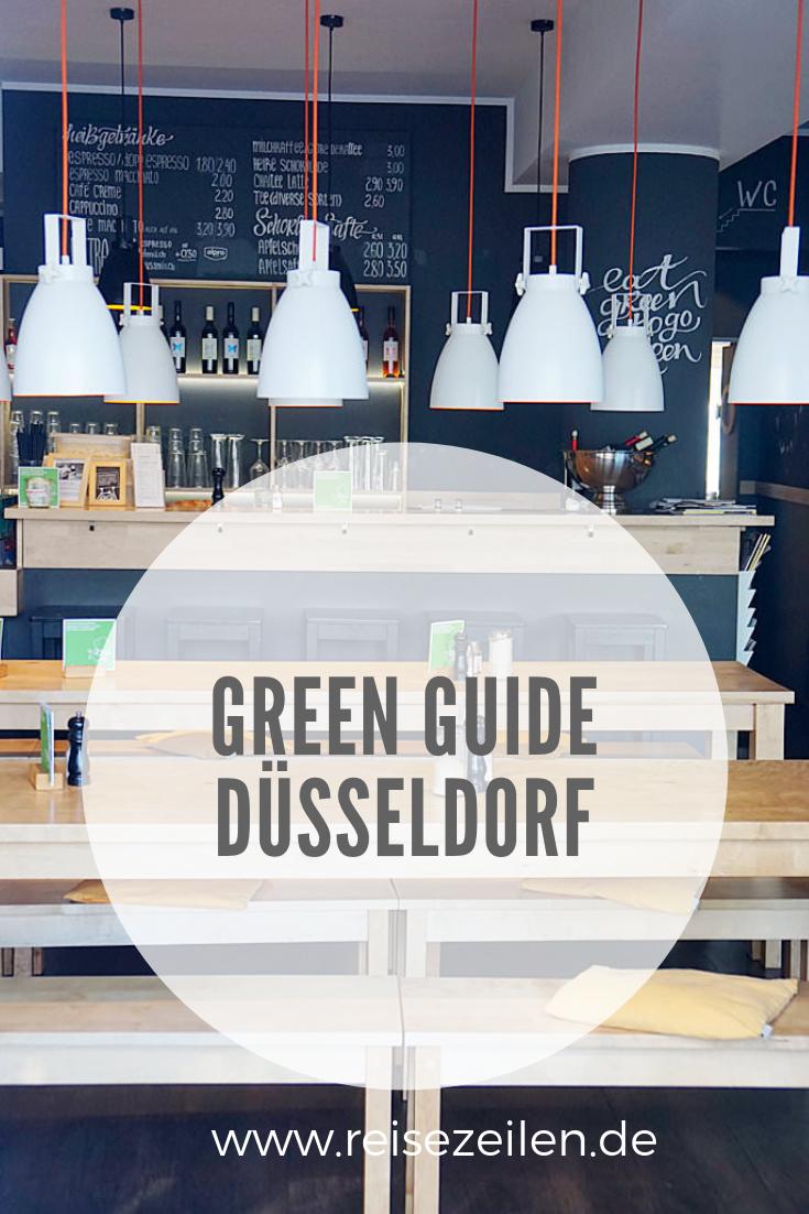 Green Guide Düsseldorf Nachhaltige Shops, Cafés und