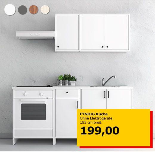 FYNDIG Küche | Küchen | Pinterest | Küche, weiße Küchen und ...