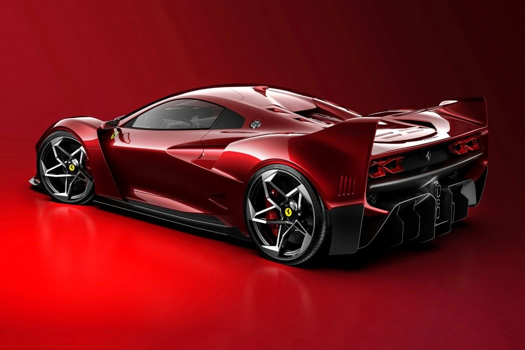 The Ferrari F40 gets an unofficial, unbelievable revival