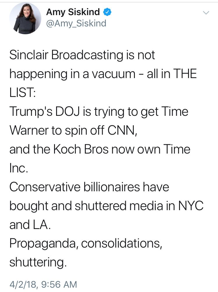 The conservative propaganda machine is taking over the