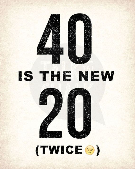 Birthday Sign Ups: 40th Birthday PRINTABLE Signs